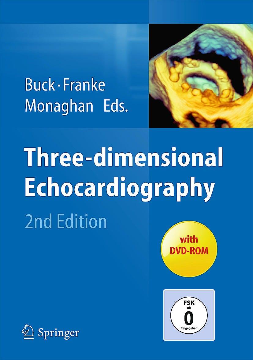 Portada del libro 9783642367984 Three-Dimensional Echocardiography + Dvd