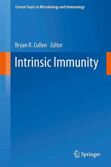 Portada del libro 9783642377648 Intrinsic Immunity (Current Topics in Microbiology and Immunology, Vol. 371)