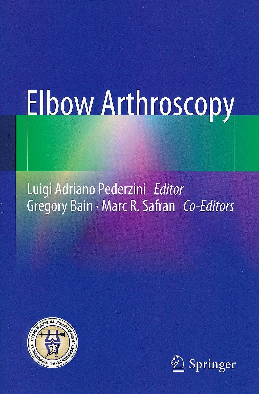 Portada del libro 9783642381027 Elbow Arthroscopy