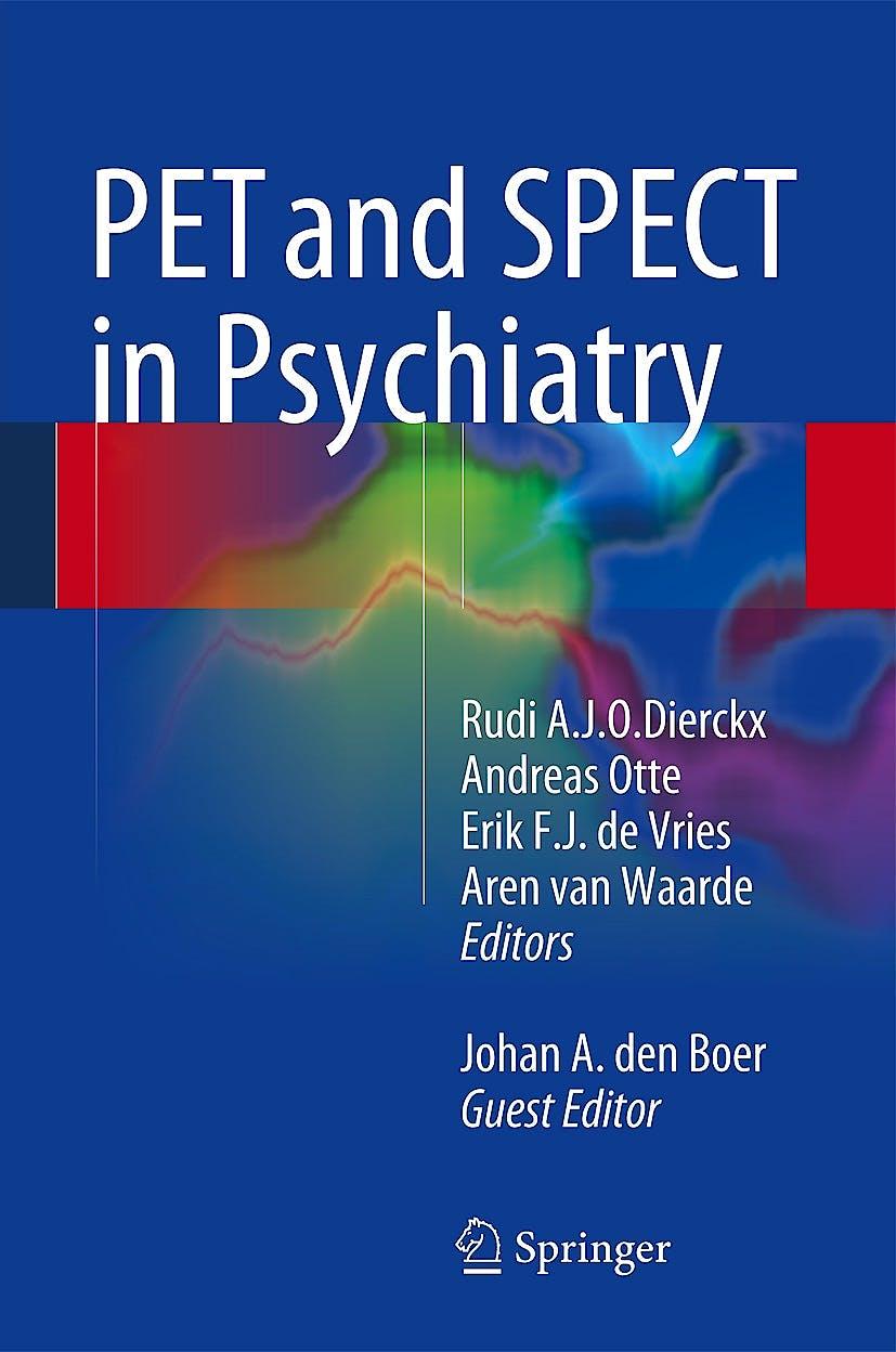 Portada del libro 9783642403835 PET and SPECT in Psychiatry