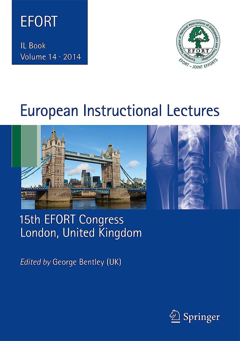 Portada del libro 9783642540295 European Instructional Lectures, Vol. 14. 2014, 15th Efort Congress, London, United Kingdom