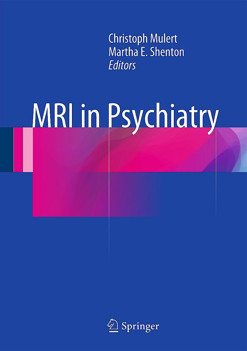 Portada del libro 9783642545412 Mri in Psychiatry