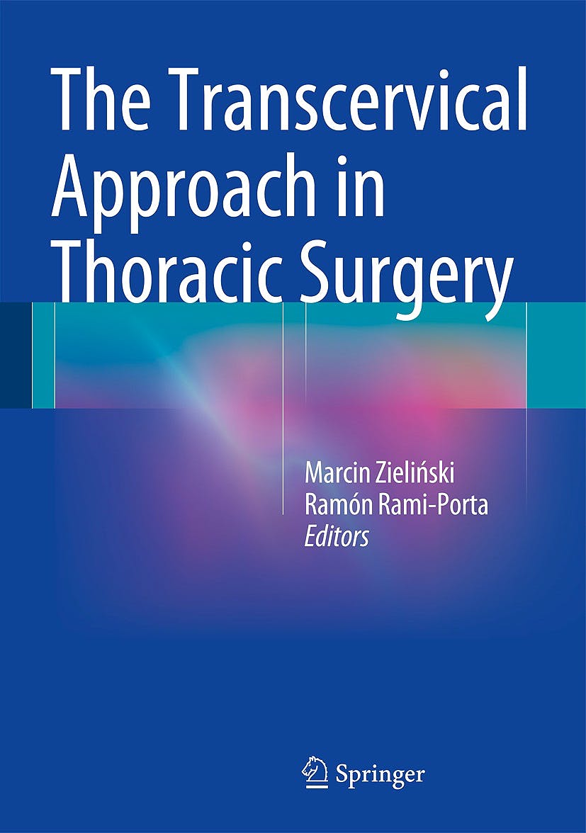 Portada del libro 9783642545641 The Transcervical Approach in Thoracic Surgery