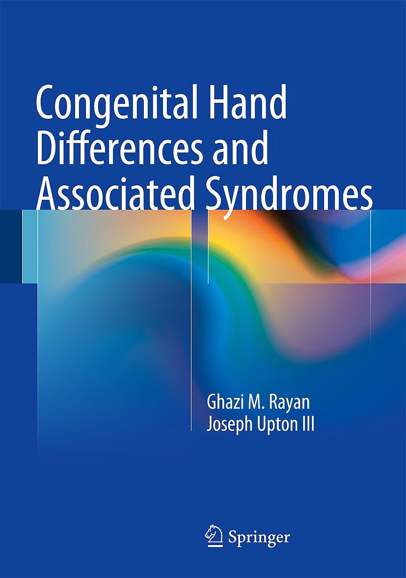 Portada del libro 9783642546099 Congenital Hand Differences and Associated Syndromes