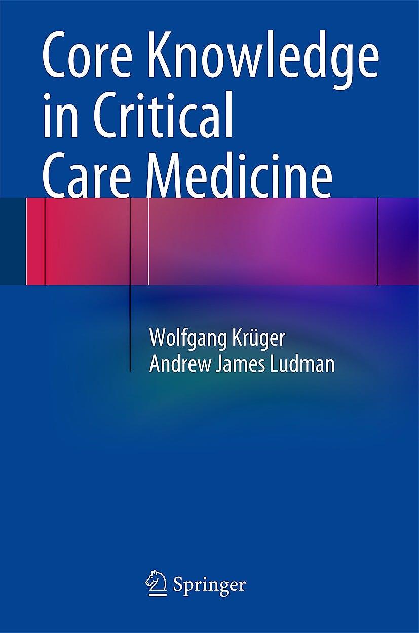 Portada del libro 9783642549700 Core Knowledge in Critical Care Medicine