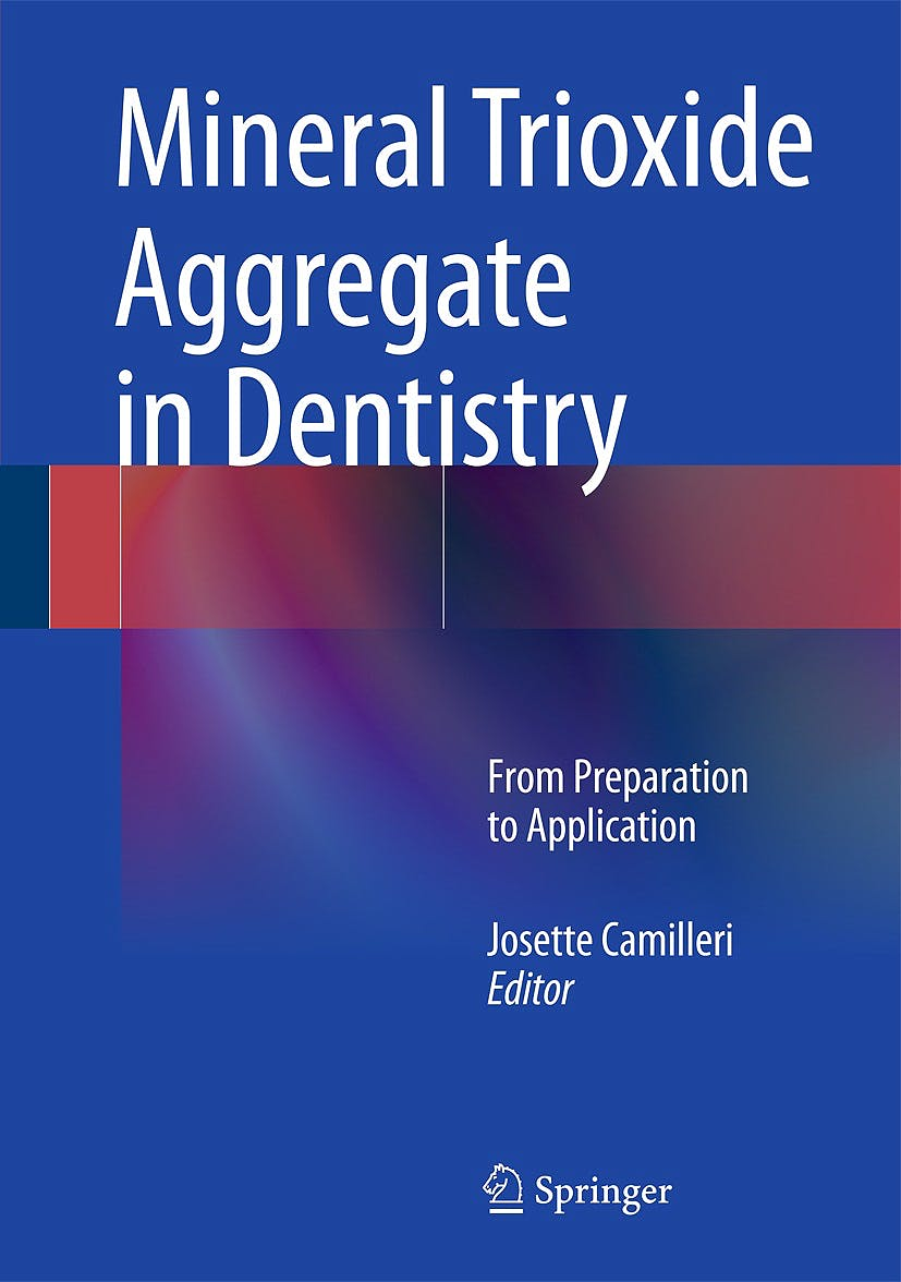 Portada del libro 9783642551567 Mineral Trioxide Aggregate in Dentistry. from Preparation to Application