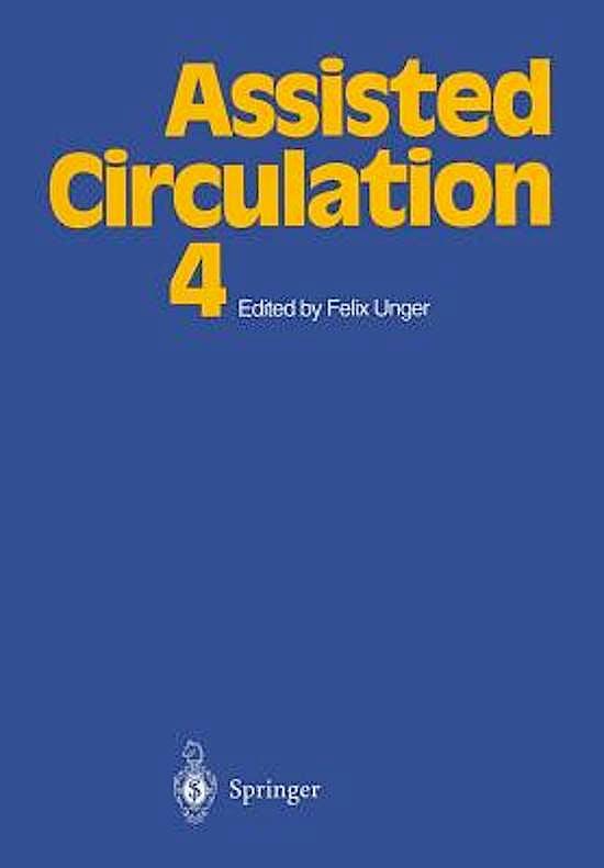 Portada del libro 9783642793424 Assisted Circulation 4