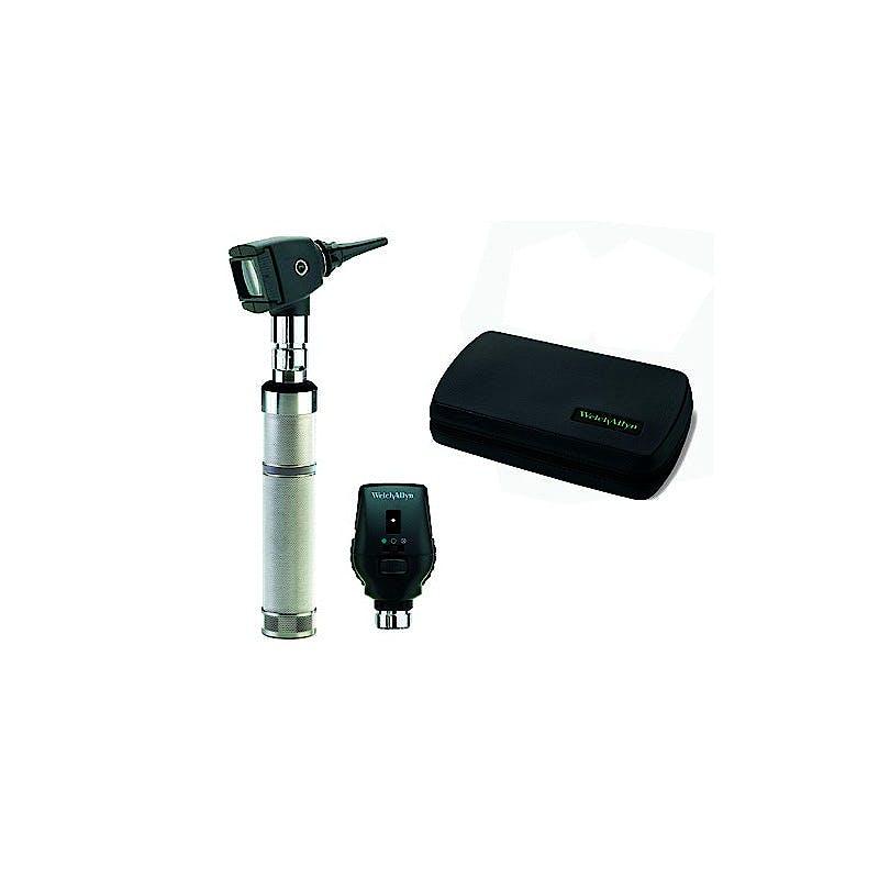 Set Oftalmoscopio-Otoscopio Welch Allyn Professional Plus: Oftalmoscopio Coaxial + Cabezal de Otoscopio de Diagnóstico + Mango a Pilas + Estuche