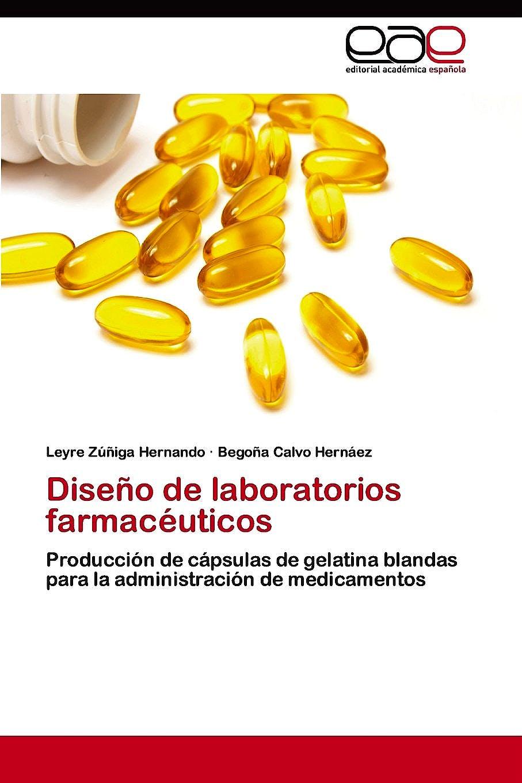 Portada del libro 9783659069185 Diseño de Laboratorios Farmaceuticos. Produccion de Capsulas de Gelatina Blandas para la Administración de Medicamentos