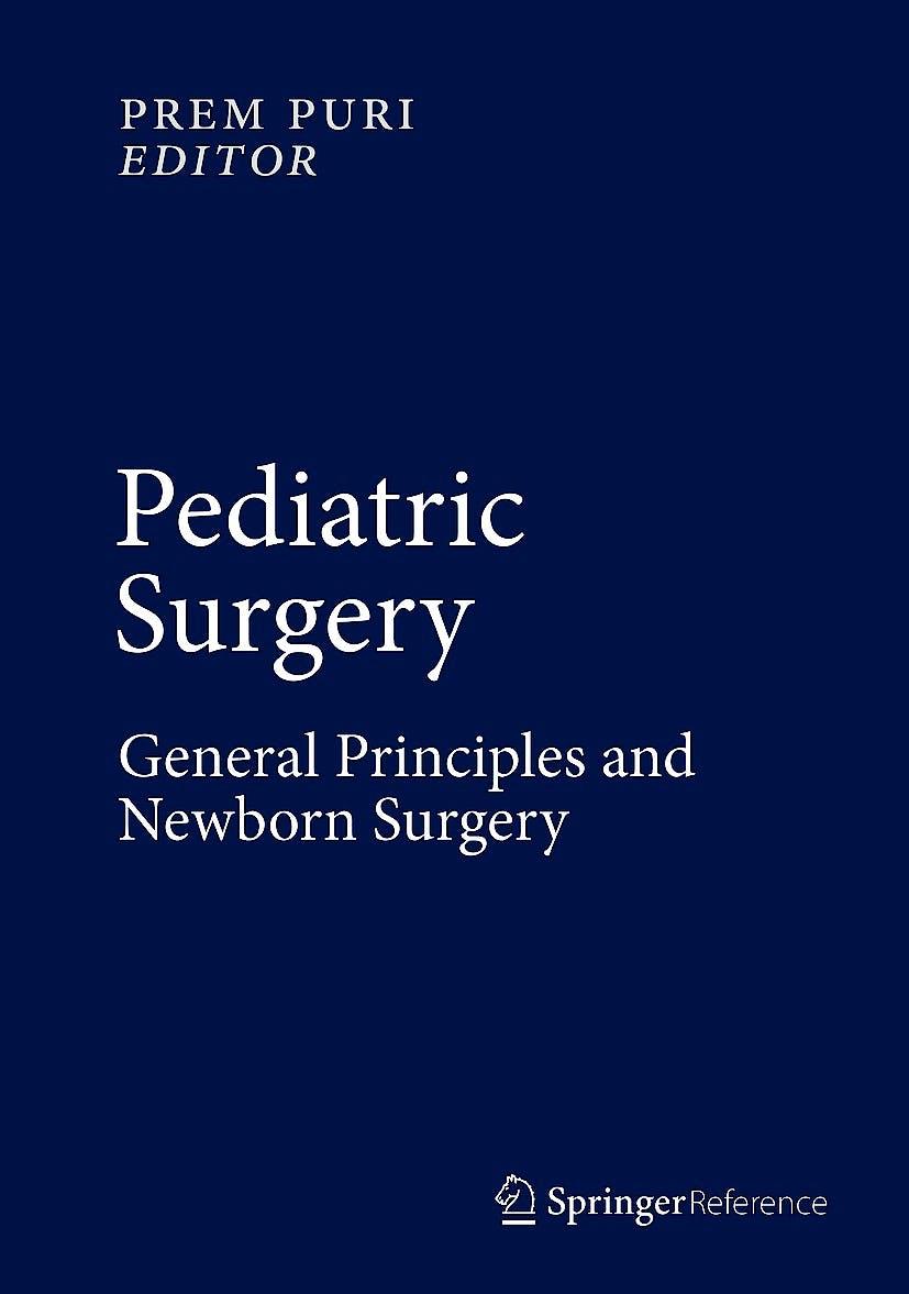 Portada del libro 9783662435878 Pediatric Surgery, Vol. 1: General Principles and Newborn Surgery