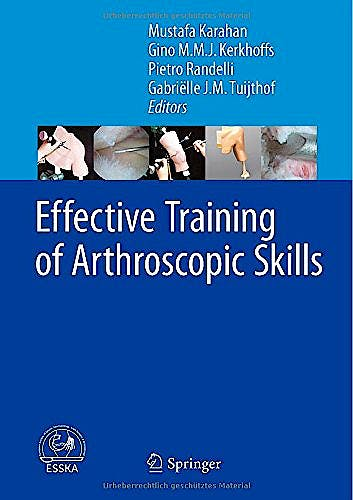 Portada del libro 9783662449424 Effective Training of Arthroscopic Skills