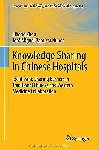Portada del libro 9783662451618 Knowledge Sharing in Chinese Hospitals
