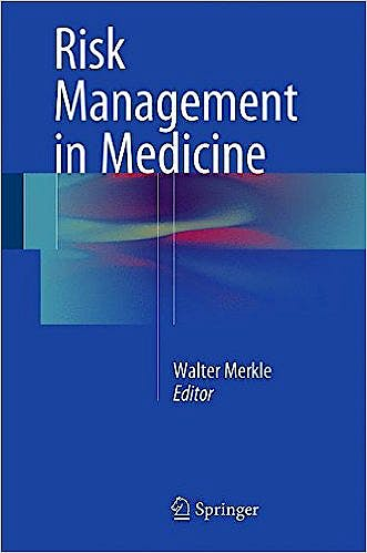 Portada del libro 9783662474068 Risk Management in Medicine