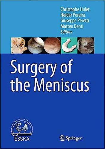 Portada del libro 9783662491867 Surgery of the Meniscus