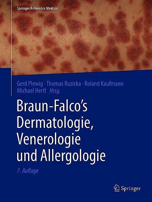 Portada del libro 9783662495438 Braun-Falco's Dermatologie, Venerologie Und Allergologie