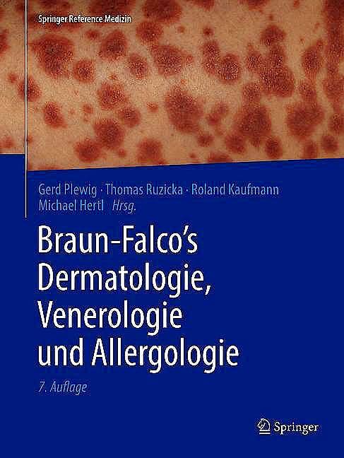 Portada del libro 9783662495452 Braun-Falco's Dermatologie, Venerologie Und Allergologie, 2 vols (Print + Ebook ) *Versión Aleman*