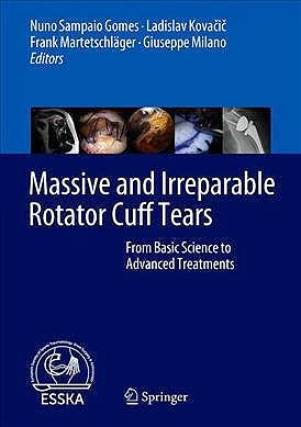 Portada del libro 9783662611616 Massive and Irreparable Rotator Cuff Tears. From Basic Science to Advanced Treatments