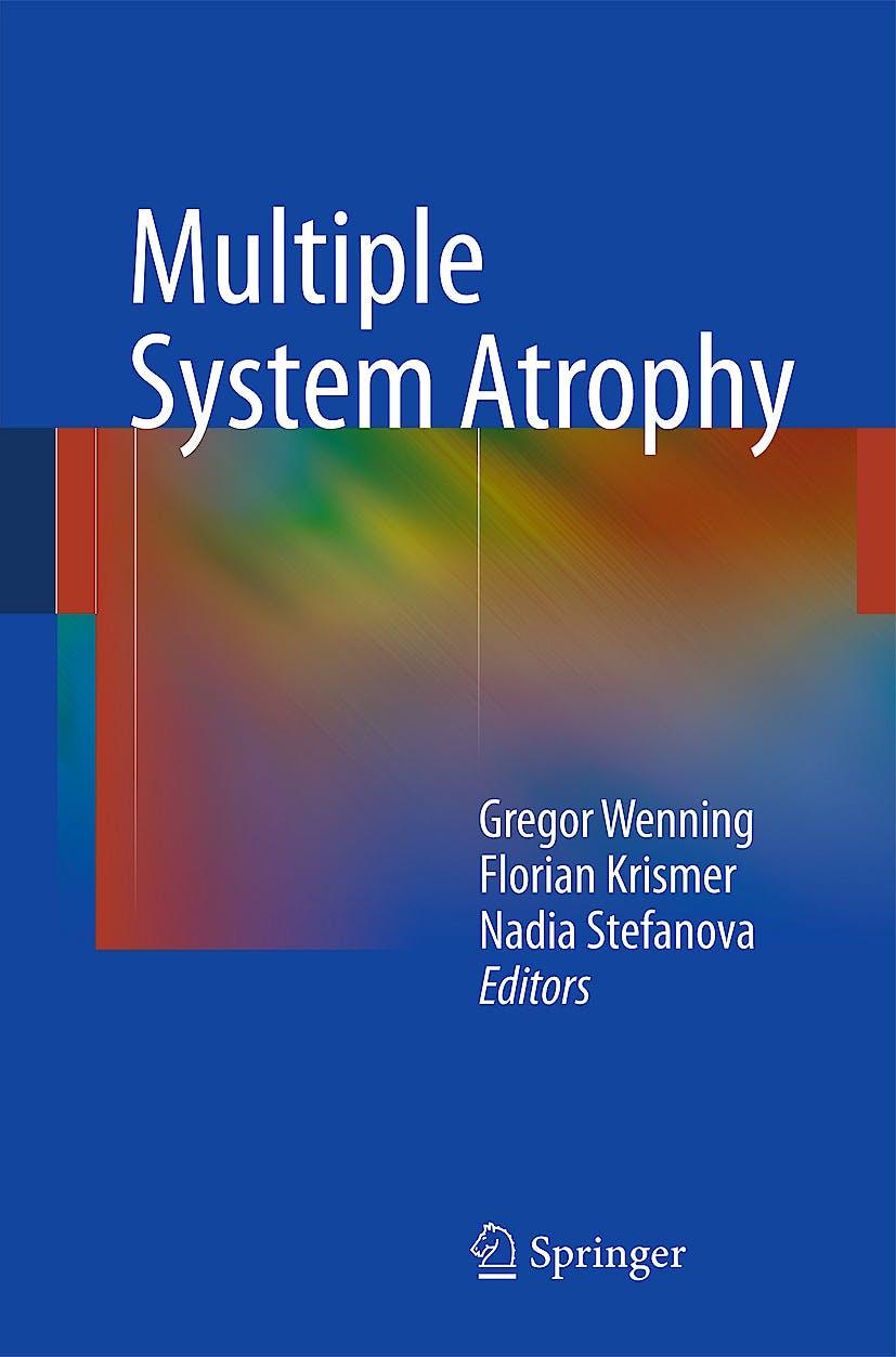 Portada del libro 9783709106860 Multiple System Atrophy