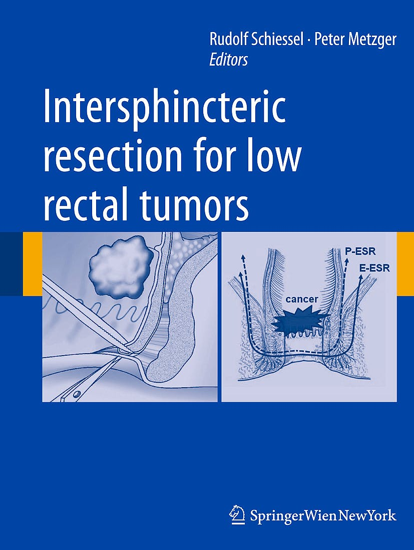 Portada del libro 9783709109281 Intersphincteric Resection for Low Rectal Tumors