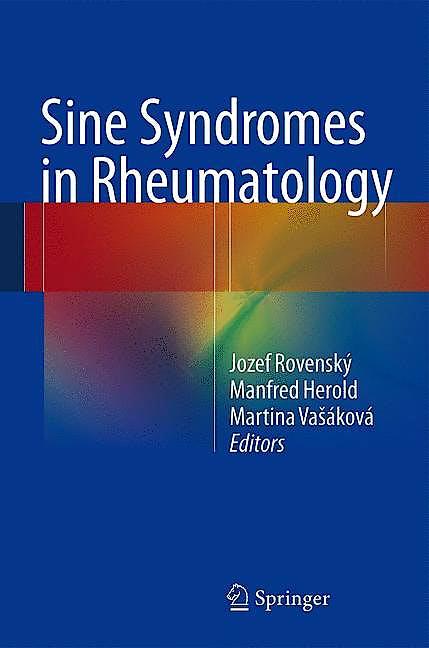 Portada del libro 9783709115404 Sine Syndromes in Rheumatology