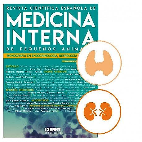Portada del libro 9783734106828 Revista Científica Española de Medicina Interna de Pequeños Animales, Vol. 2-2: Monografía en Endocrinología, Nefrología y Urinario