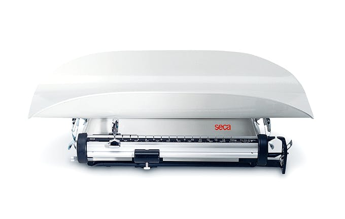 Pesabebés Mecánico Clase III SECA Mod. 745, Fuerza 16 kg., División 10 g.