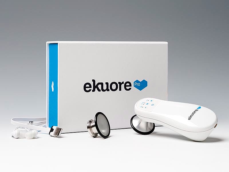 Fonendoscopio Electrónico EKUORE Pro Kit básico