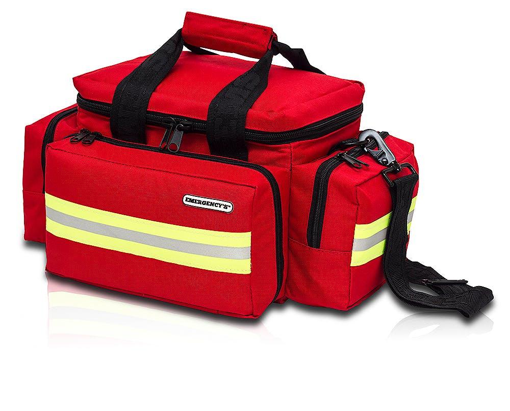 Bolsa Ligera Emergencias de Loneta Roja Modelo EM13.001