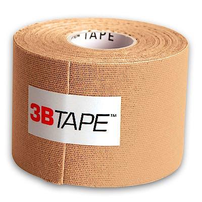 3B Tape Beige Kinesiology Tape, Rollo de 5 cm. x 5 m.