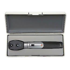 Oftalmoscopio Heine Mini 3000 LED, con Mango a Pilas y Estuche Rígido