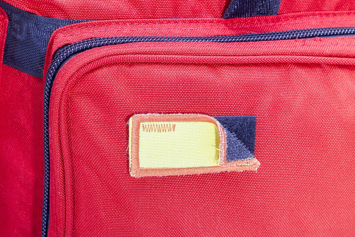 Bolsa Soporte Vital Avanzado Color Rojo Modelo CRITICAL'S EB02.010