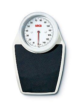 Báscula Mecánica de Suelo SECA Mod. 762, Capacidad 150 kg., División 500 g.