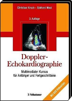Portada del libro 9783794551576 Doppler-Echokardiographie. Multimedialer Kursus Für Anfänger Und Fortgeschrittene (Mit Cd-Rom Mit 450 Videoclips)