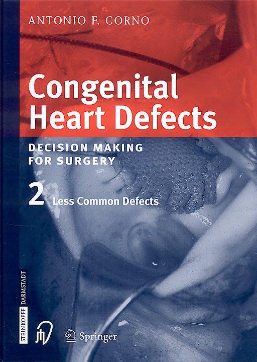 Portada del libro 9783798514232 Congenital Heart Defects: Decision Making for Surgery