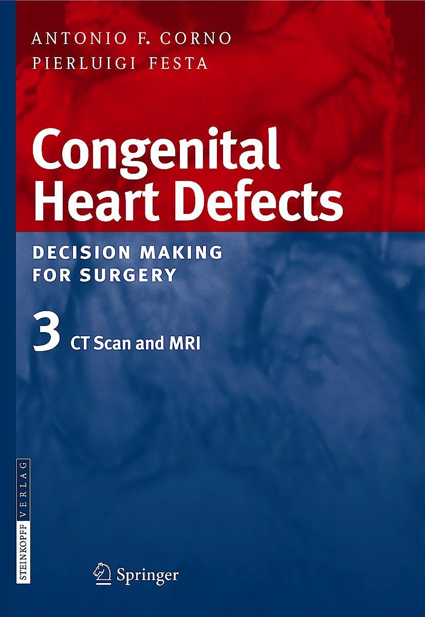 Portada del libro 9783798517189 Congenital Heart Defects. Decision Making for Surgery