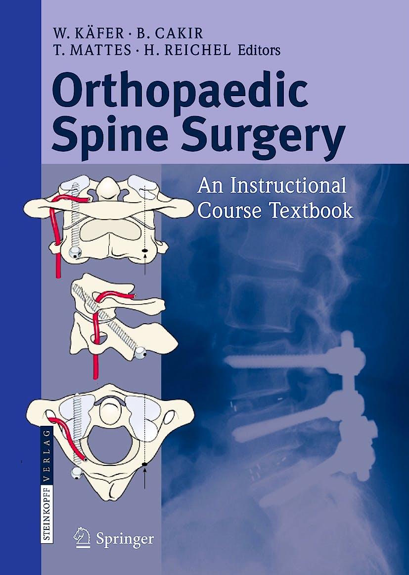 Portada del libro 9783798518285 Orthopaedic Spine Surgery