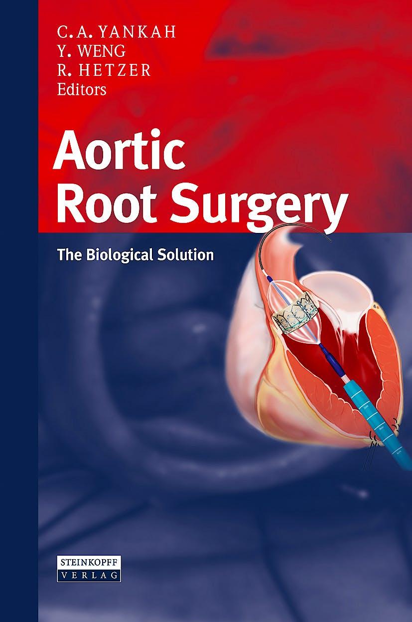 Portada del libro 9783798518681 Aortic Root Surgery. the Biological Solution