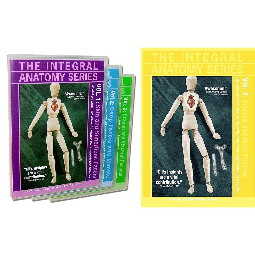 Portada del libro 9783798604520 The Integral Anatomy Series - Four Volume Dvd Set (Total 540 Minutes): Whole Body Dissection of the Skin, Superficial, Deep, Muscle, Cranial Fascia…