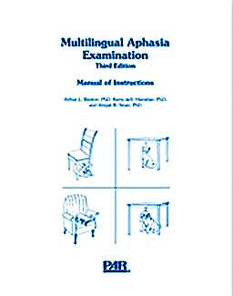 Portada del libro 9783802583315 Multilingual Aphasia Examination (Mae) Kit-Spanish Version (Ref. Ww-4673-Kt)