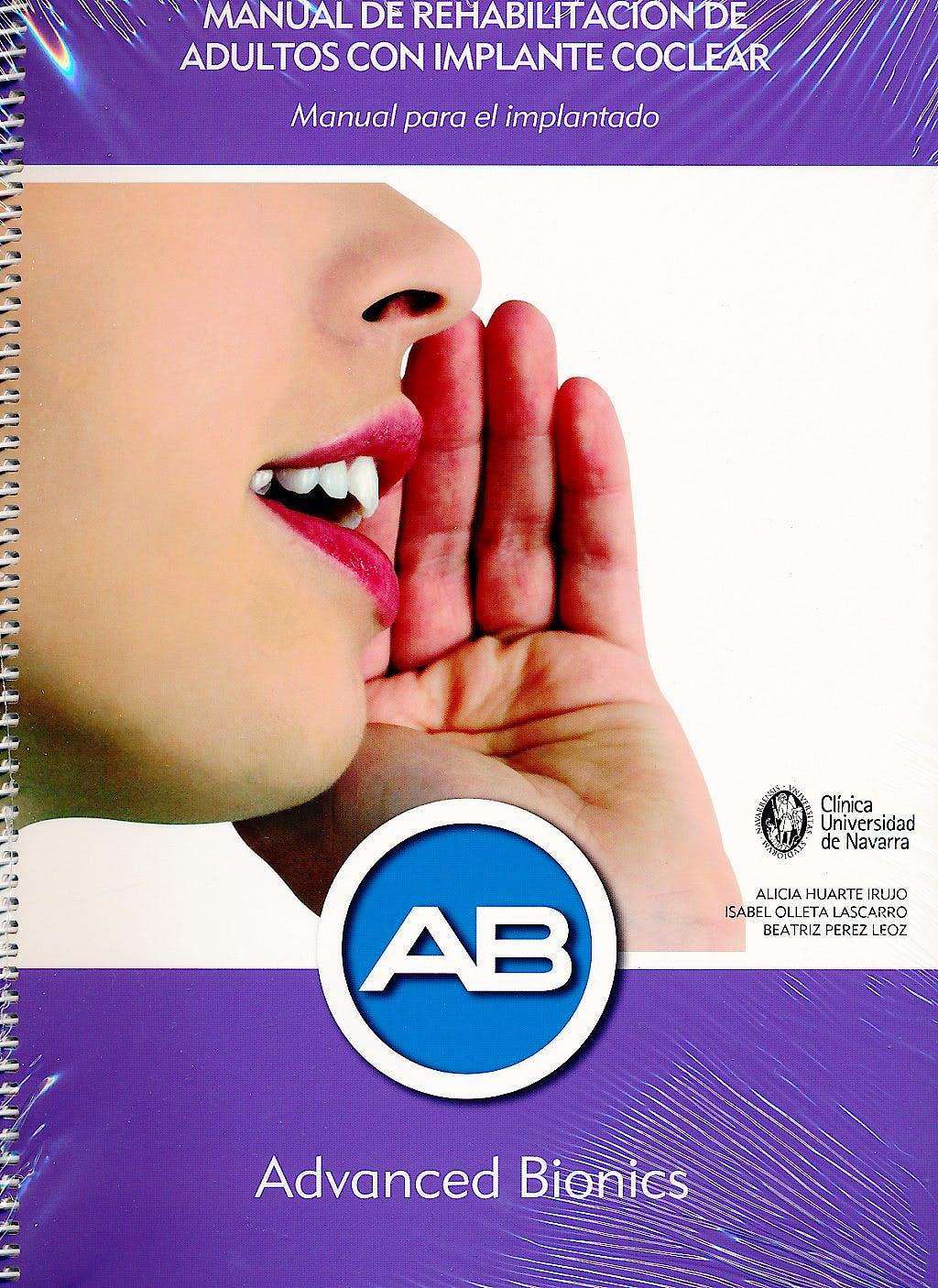 Portada del libro 9783802583667 Manual de Rehabilitación de Adultos con Implante Coclear. Manual para el Implantado + Manual para el Profesional