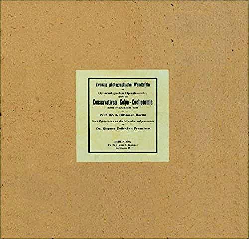 Portada del libro 9783805515917 Gynäkologische Operationslehre (20 Placas de Fotos Colpoceliometrias 34 X 44 Cm + Booklet en Aleman o Ingles a Elegir)