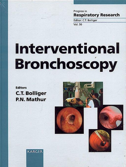 Portada del libro 9783805568517 Interventional Bronchoscopy (Progress in Respiratory Research, Vol. 30)