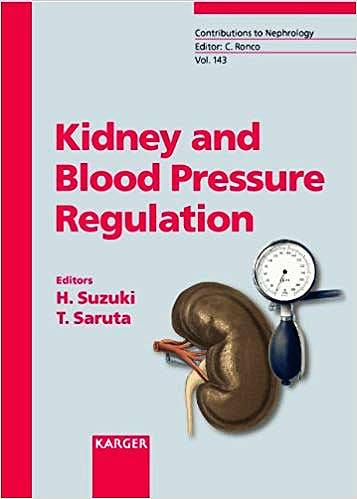 Portada del libro 9783805577519 Kidney and Blood Pressure Regulation