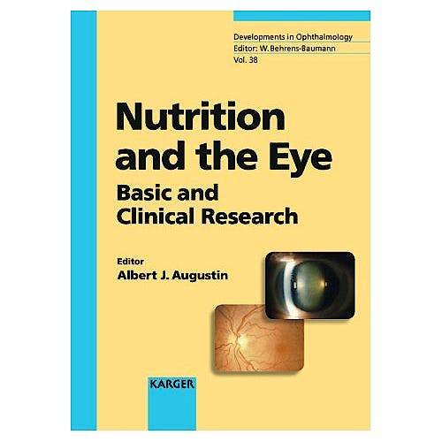 Portada del libro 9783805578387 Nutrition and the Eye: Basic and Clinical Research