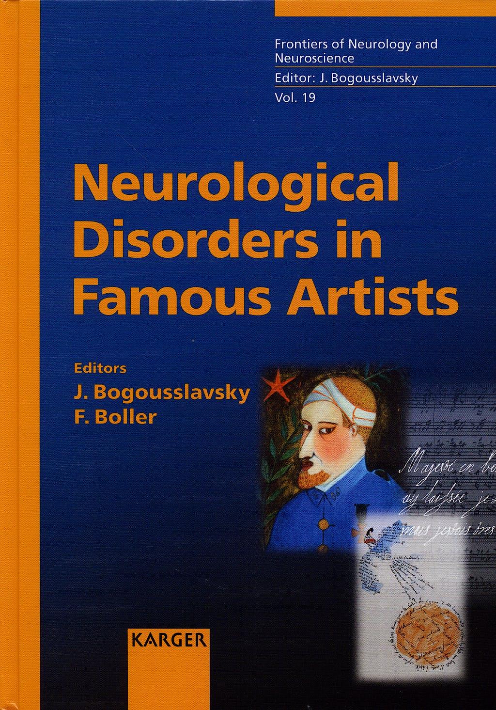 Portada del libro 9783805579148 Neurological Disorders in Famous Artists, vol.19