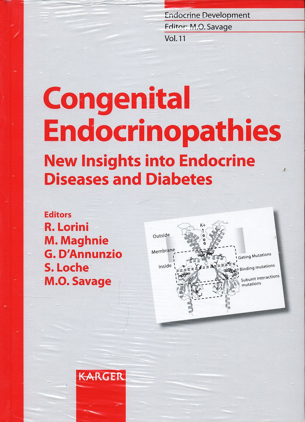 Portada del libro 9783805583473 Congenital Endocrinopathies