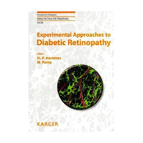 Portada del libro 9783805592758 Experimental Approaches to Diabetic Retinopathy (Frontiers in Diabetes)
