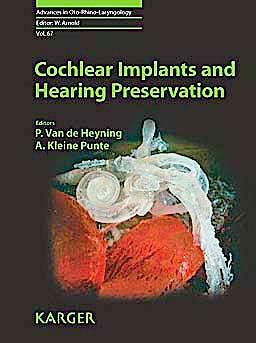 Portada del libro 9783805592864 Cochlear Implants and Hearing Preservation