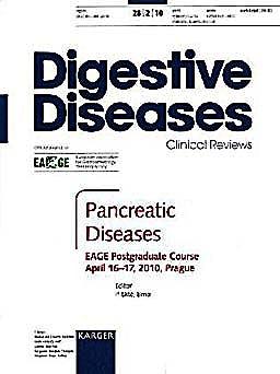 Portada del libro 9783805595230 Pancreatic Diseases (Digestive Diseases, Vol. 28 Nº 2)