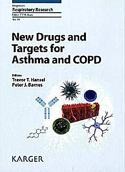 Portada del libro 9783805595667 New Drugs and Targets for Asthma and Copd (Progress in Respiratory Research, Vol. 39)